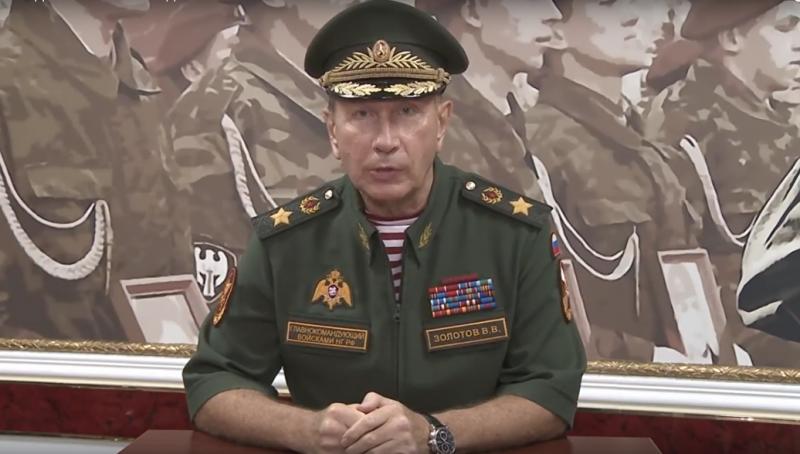 Глава Росгвардии Виктор Золотов отчитал слизняка Навального и вызвал его на дуэль