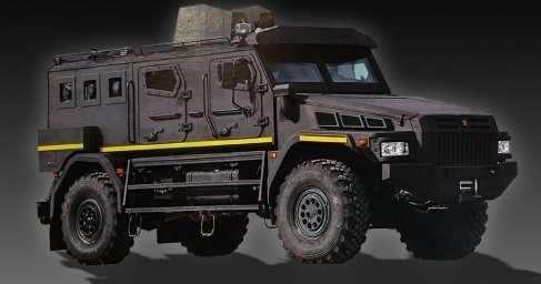 В Сирии попал в кадр новейший бронеавтомобиль российского спецназа