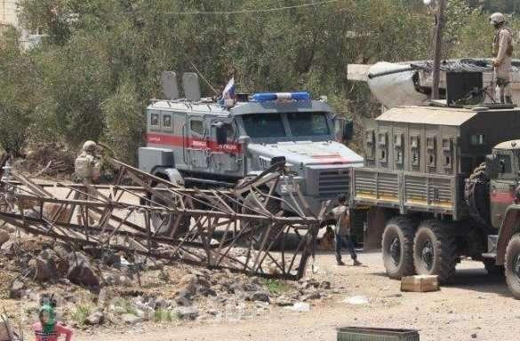 В Сирии попал в кадр новейший бронеавтомобиль российского спецназа | Русская весна