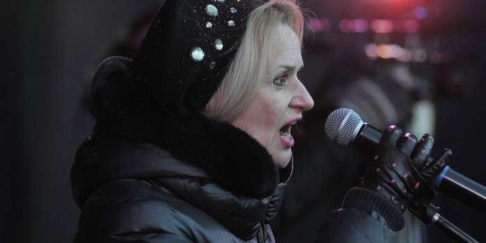 Истеричка Фарион призывает украинцев убивать!