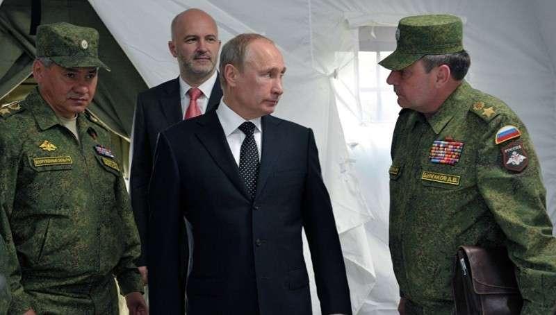 Владимир Путин прибыл на крупнейшие в истории учения «Восток-2018»