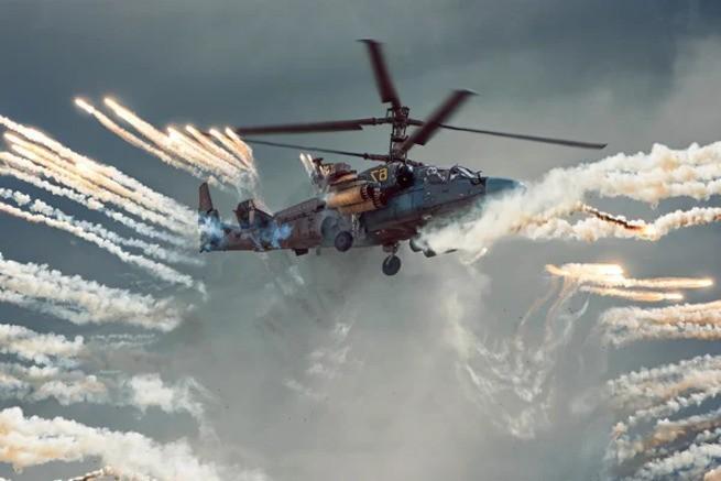 Армия США: «Убегали все, но тут, внезапно, появился вертолет России»