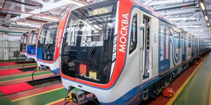 ВМосковском метрополитене начал курсировать 70-й поезд «Москва»