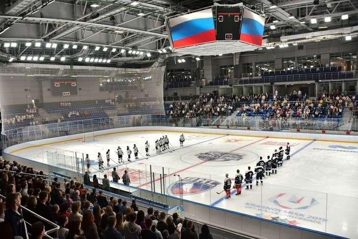 ВКрасноярске открыли объект зимней Универсиады-2019— ледовый дворец «Кристалл Арена».