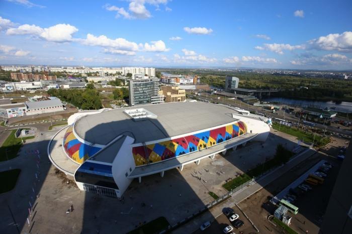 Красноярск. Открыт ледовый дворец «Кристалл Арена»