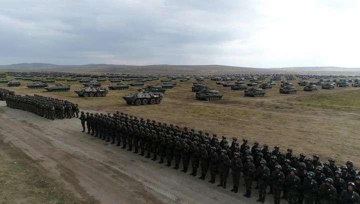 На манёврах «Восток-2018» военные применили огневой вал впервые после Отечественной войны