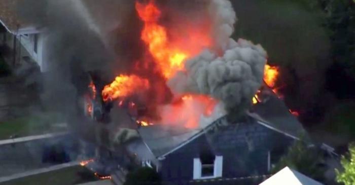 США. Серия взрывов газа в домах Массачусетса – это теракт?