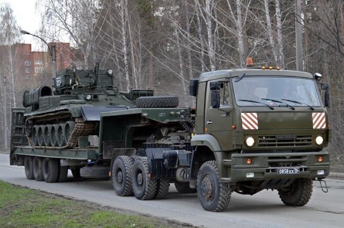 Камаз импортозаместит белорусские тягачи в армии России