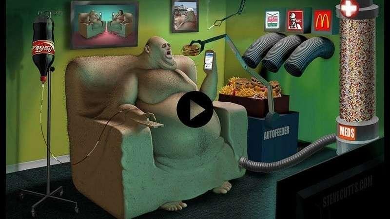 Общество потребления. Взгляд на абсолютизацию материальных потребностей человека