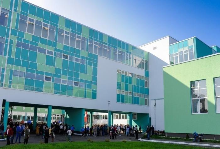 Пермь. Открыта большая школа на1500 учащихся