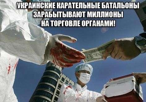 Похищения и пытки людей на Донбассе могут свидетельствовать о причастности руководства спецбатальонов к черной трансплантологии