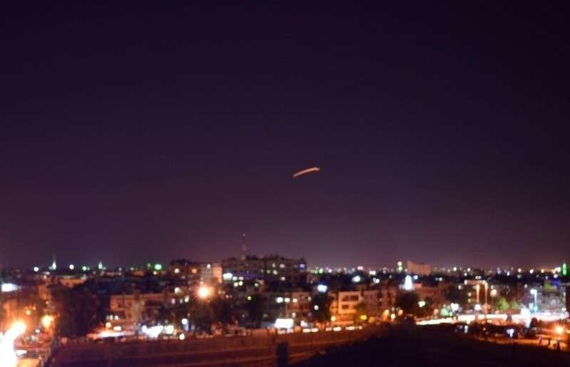 Ночной обстрел аэропорта Дамаска Израилем