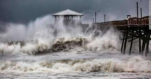 В США ураган «Флоренс» уносит новые жизни, число жертв растёт