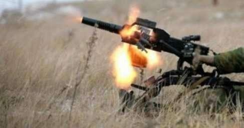 Сводка о ситуации на Донбассе. Сержант Пышка взорвал четырёх карателей