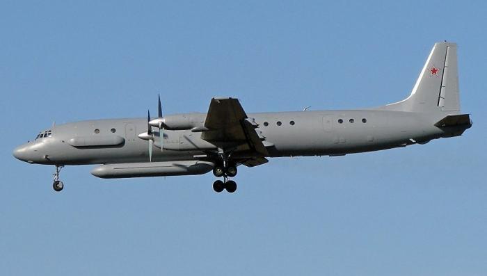 Ил-20 ВКС сбит в Сирии