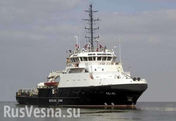 К месту падения Ил-20 у берегов Сирии направлено спасательное судно | Русская весна