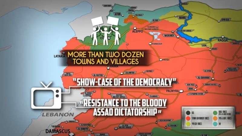 Сирия. Многотысячные митинги на северо-западе страны