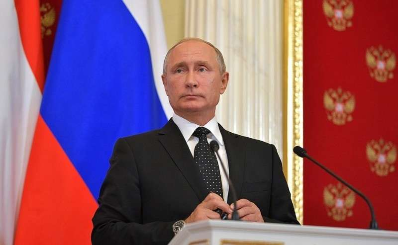 Напресс-конференции поитогам российско-венгерских переговоров.