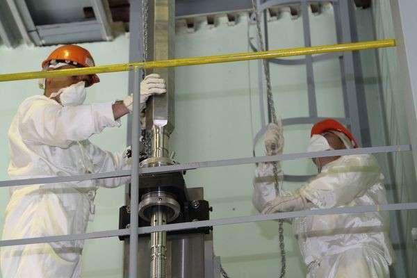 Проведены приемосдаточные испытания первой тепловыделяющей сборки снитридным топливом