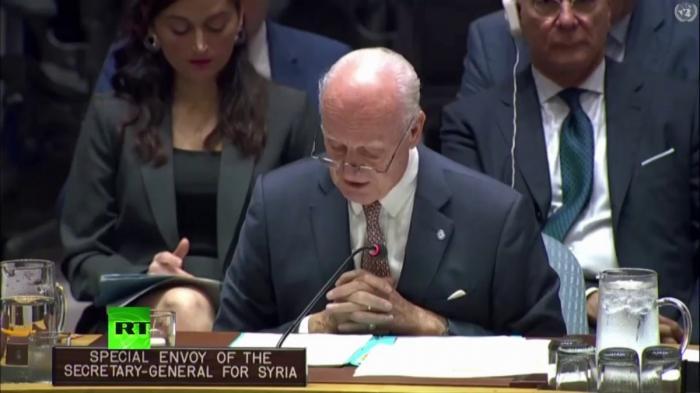 Брифинг в Совете Безопасности ООН по ситуации в Сирии. Прямая трансляция
