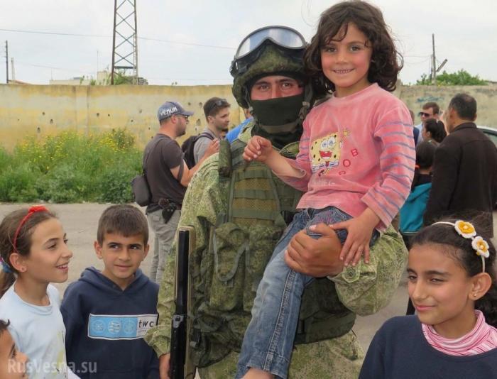 Сирийцы рассказали, что думают о России и её военных после трёх лет войны
