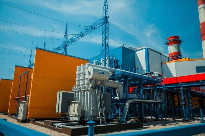 Газотурбинная электростанция мощностью 298 МВт. готова кзапуску вНовокузнецке