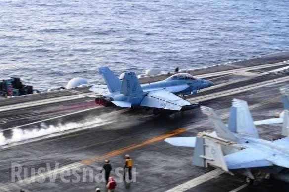 АУГ ВМС США начинает операции в Средиземном море | Русская весна