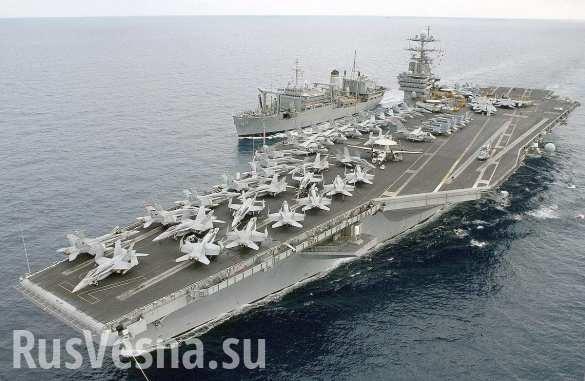 АУГ ВМС США начинает операции в Средиземном море