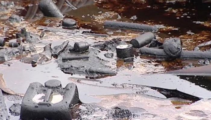 Под Петербургом обнаружена экологическая бомба