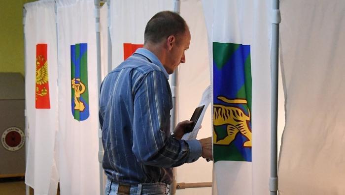 Следственный комитет начал проверки из-за нарушений на выборах в Приморье