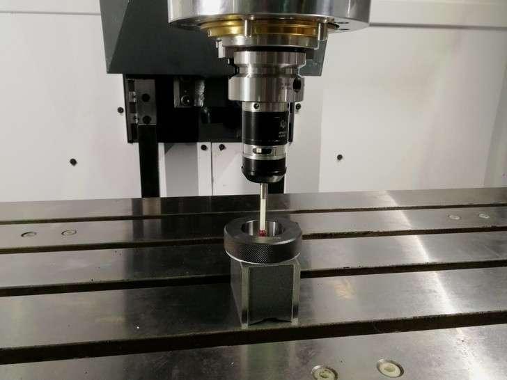 Калибровка датчика измерения детали
