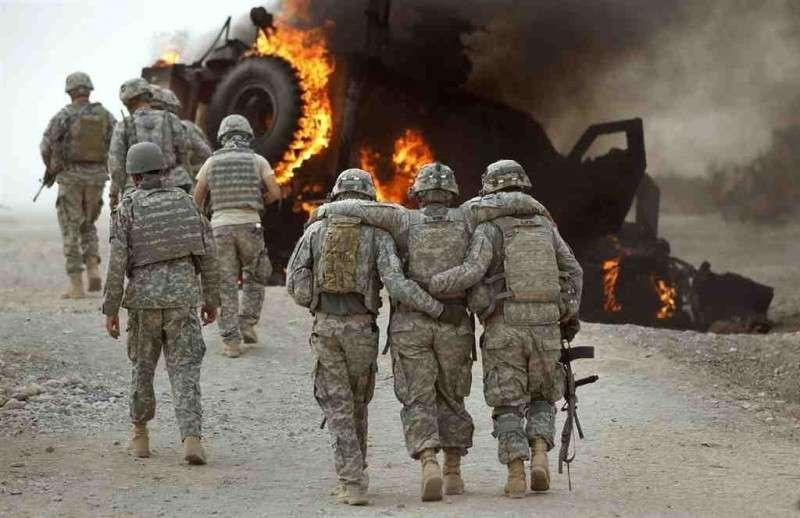 В Сирии конвой США и их наёмников попал в засаду – 15 человек убиты, 25 ранено
