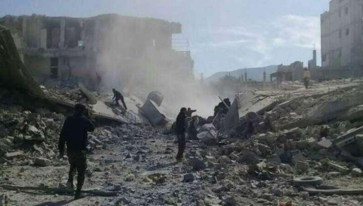Сирия. В Идлиб американские наёмники уже завезли отравляющее вещество зарин