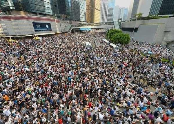 Гонконг, протест, митинг|Фото: epochtimes.ru