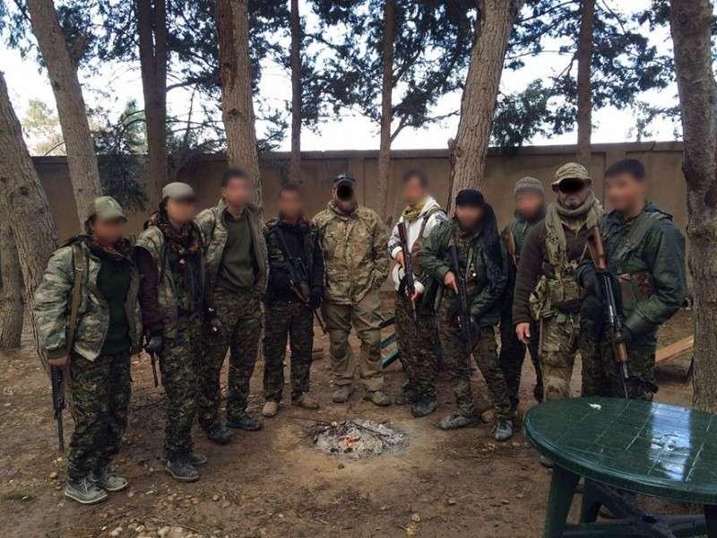 В Сирии американская ЧВК Castle International тесно сотрудничает с террористами