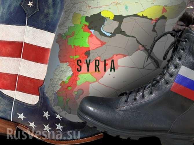 Сирия: паразиты Запада против Москвы и Дамаска