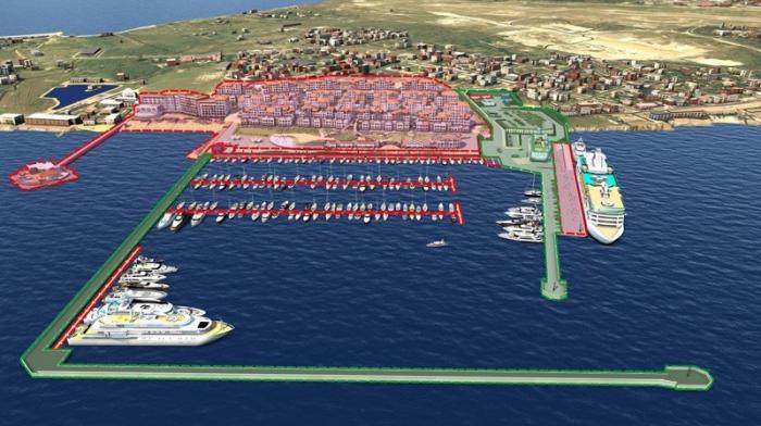 Геленджик. Строительство береговой инфраструктуры началось