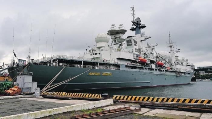 Тихоокеанский флот России получил корабль «Маршал Крылов» – плавающий «штаб звёздных войн»