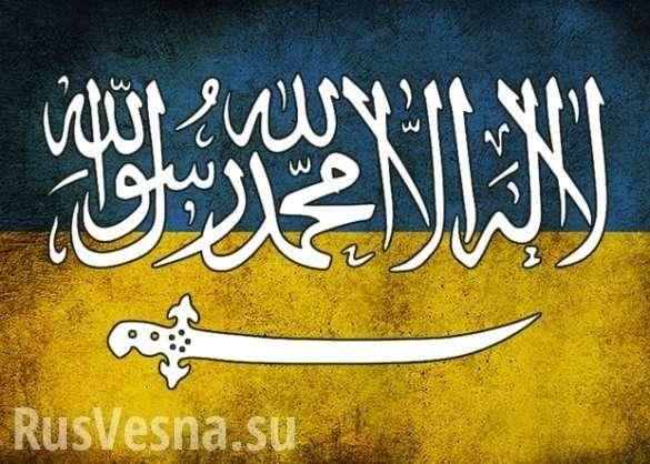 «Одесский халифат»: Украинцев напугали мусульмане, прошедшие подчёрными флагами по городу (ФОТО, ВИДЕО) | Русская весна