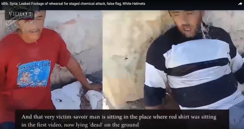 Сирия: видео со съемок