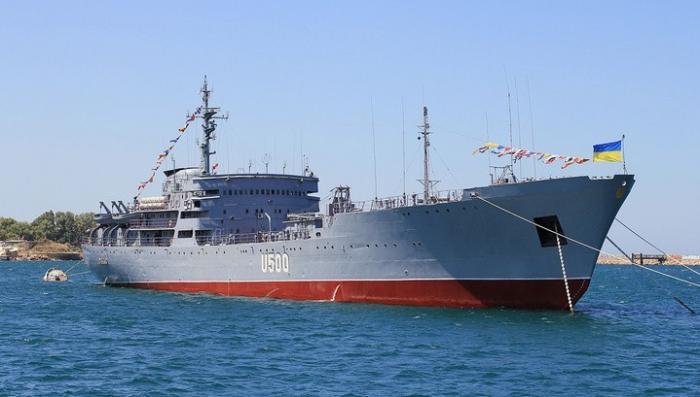 Корабли Украины вошли в исключительную экономическую зону России у берегов Крыма