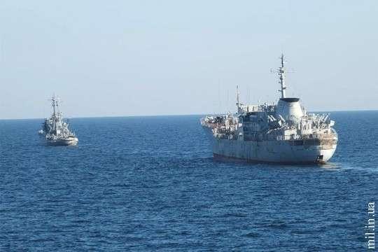 Стало известно, зачем украинские военные корабли приблизились к берегам Крыма