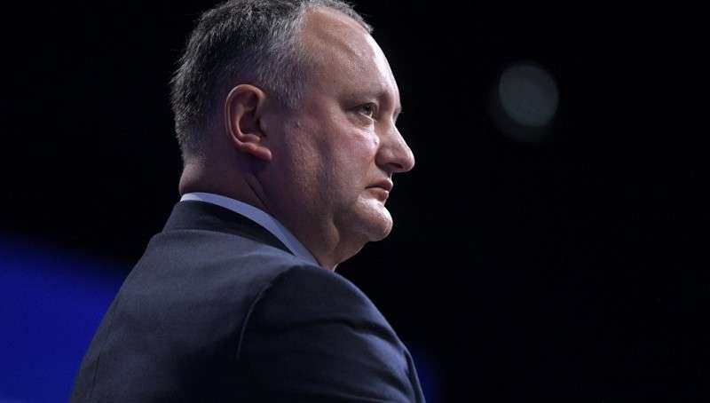 Президента Молдавии Додона временно отстранили от исполнения обязанностей
