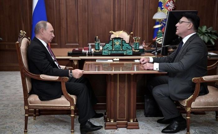 Владимир Путин обсудил сглавой Роскомнадзора защиту персональных данных в интернете