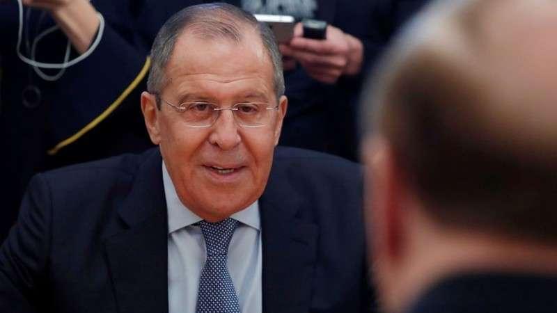 Сергей Лавров отреагировал шуткой на провокацию Вальцмана