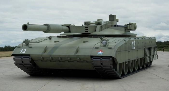 Российские танки-роботы Уралвагонзавода будут атаковать группами