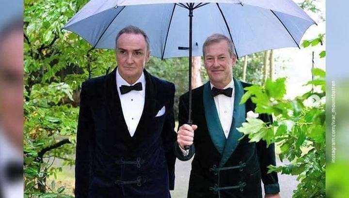 Первая гей-свадьба в королевской семье: кузен Елизаветы II вступил в брак