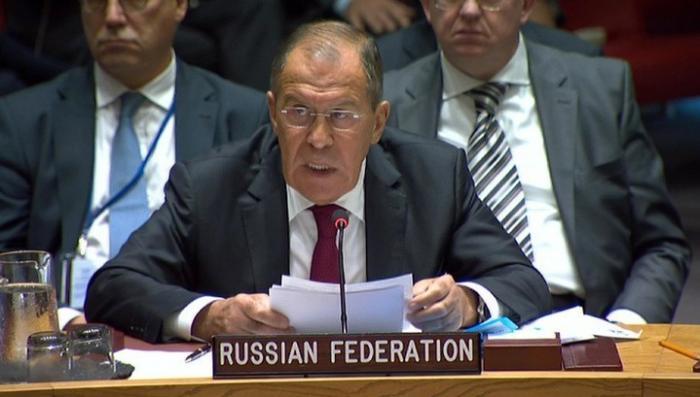 Сергей Лавров в СБ ООН рассказал о наличии отравляющих веществ в Сирии
