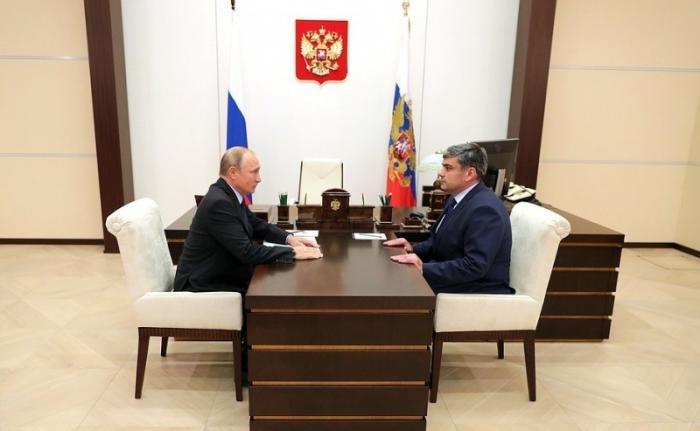 Владимир Путин назначил Казбека Кокова врио главы Кабардино-Балкарской Республики