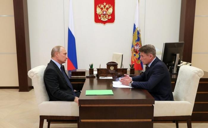 Владимир Путин назначил Олега Кожемяко врио губернатора Приморского края